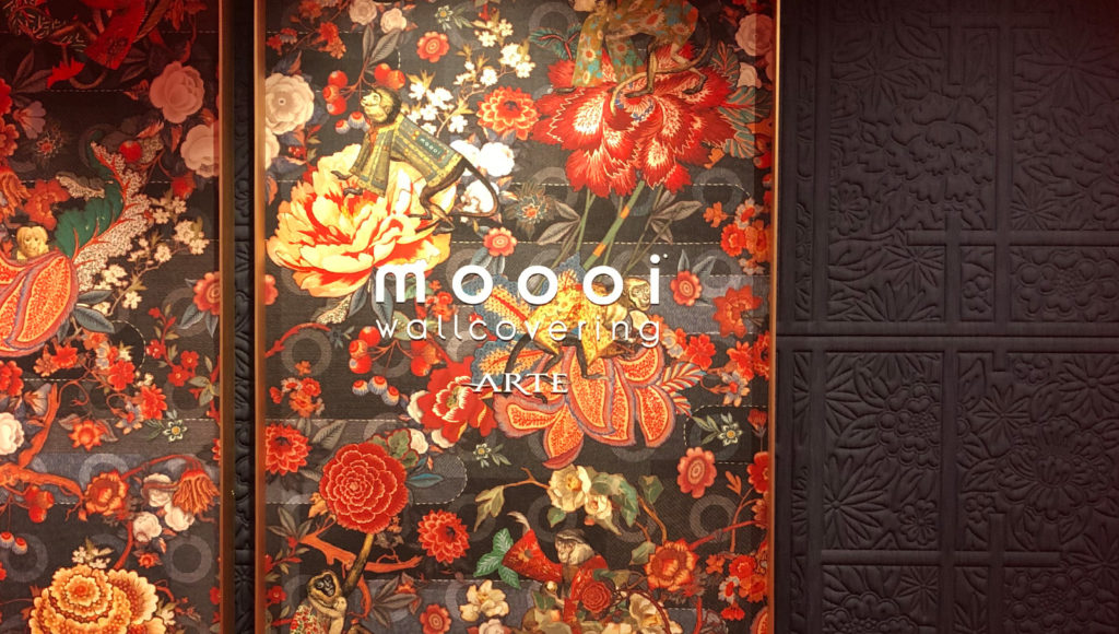 Moooi Design behang Van Nes